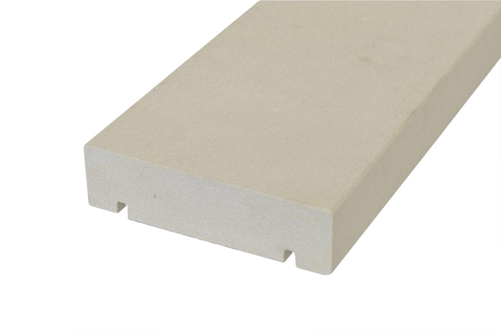 Mauerabdeckung 100 X 25 X 4 Cm Sandstein Naturstein Grau